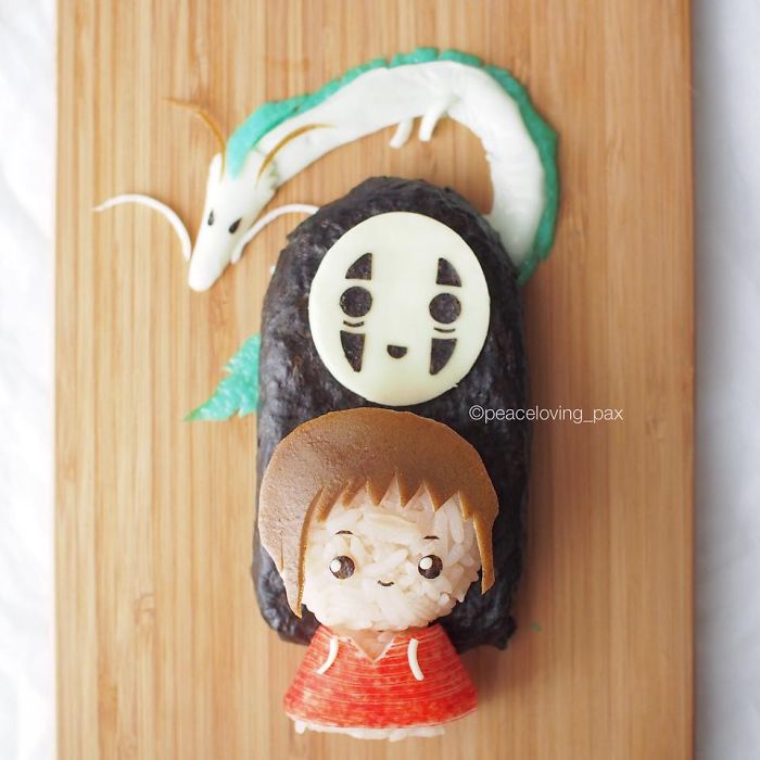 My Spirited Away Onigiri Lunch Set