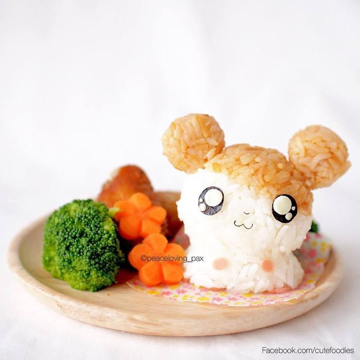 Happy Lunch With Hamtaro