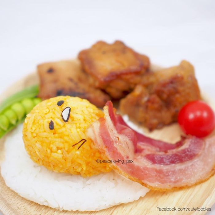 Gudetama, The Lazy Egg Yolk, Rice Boll