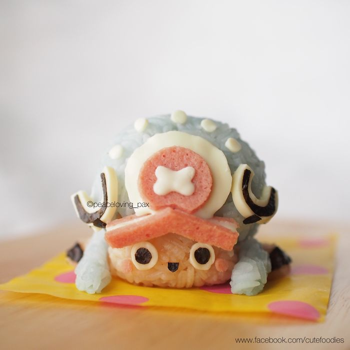 """Tony Chopper Rice Ball For """"One Piece"""" Fans"""