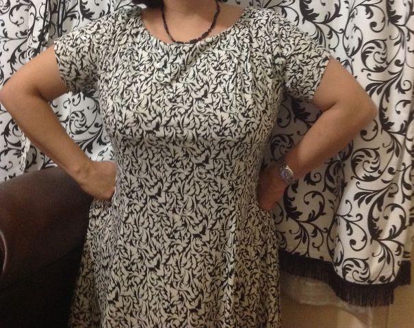 My Mom's Dress!