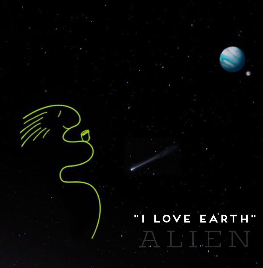 Lovely Alien