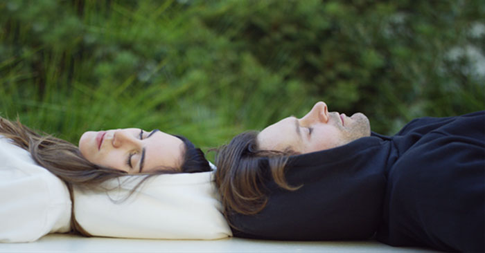 This Inflatable Sleep Hoodie Lets You Nap Anywhere