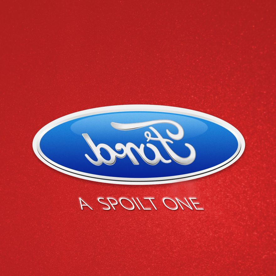 I've Turned Some Famous Brands Upside Down And Inside Out