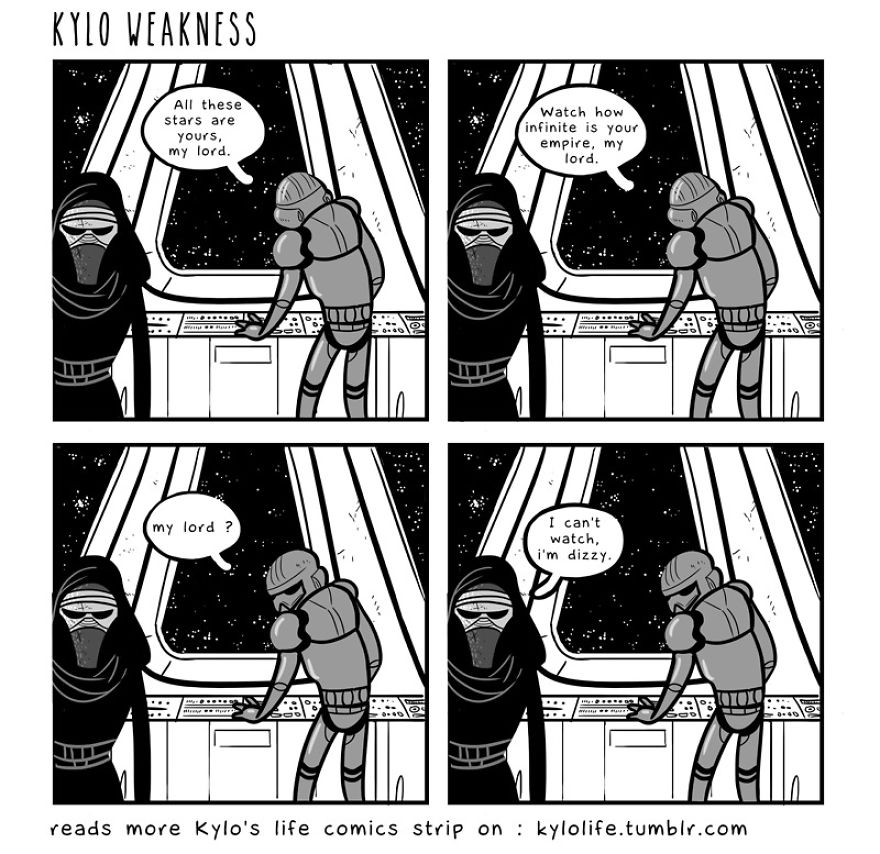 Kylo Life's Comic Strips
