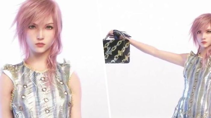 Lightning! Louis Vuitton New Model From Final Fantasy 13