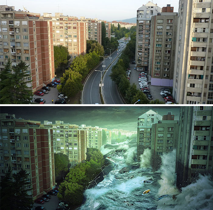 I Imagined How My Hometown Nis, Serbia Would Look After The Apocalypse