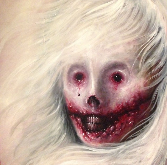 Horror Face Painting Photos