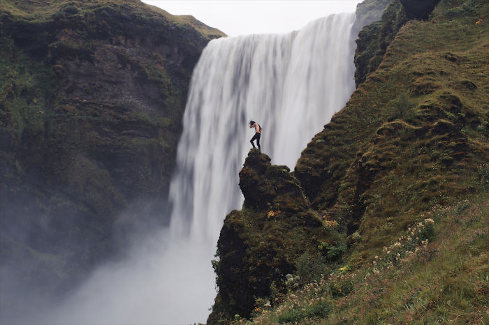 My Self-Portrait Series Taken In Iceland Show The Fragile Relationship Between Man And Nature