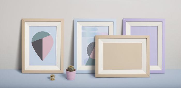 Paper Frames That Fold Flat!
