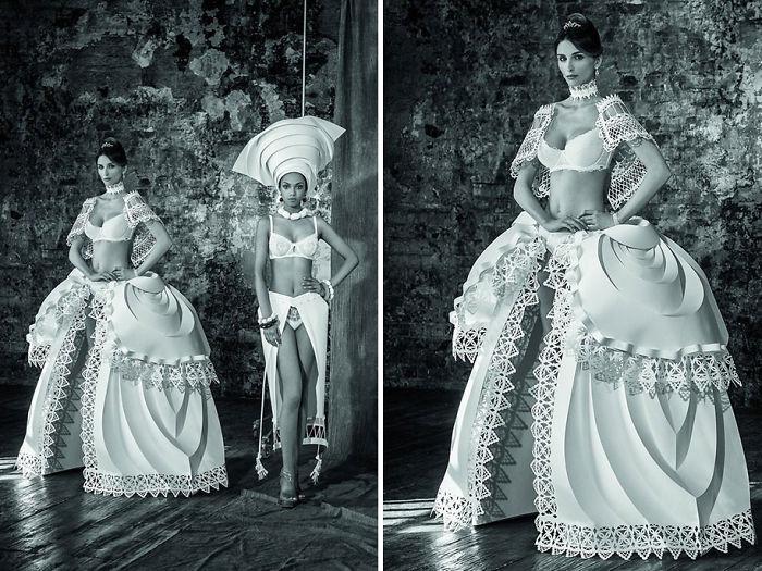 Paper Wedding Dresses Of Asya Kozina