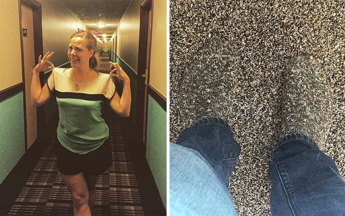 15+ People Who Accidentally Dressed Like Their Surroundings