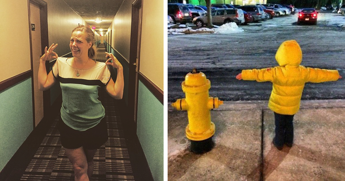 15 People Who Accidentally Dressed Like Their Surroundings