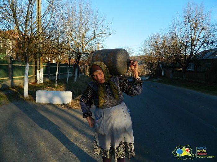 People Of A Romanian Village
