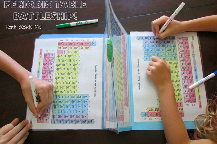 Mom Makes Periodic Table Battleship To Teach Her Kids About Elements