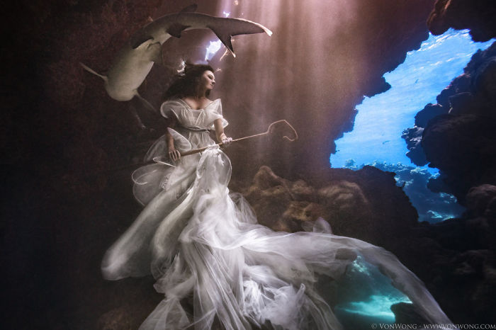 Photographer Tied A Model Up In Shark-infested Waters