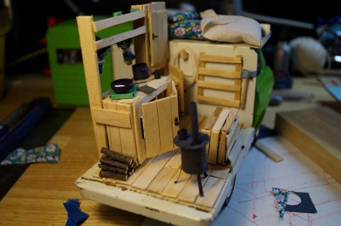 I Built A Custom Interior For My Retro Tonka Rv Toy