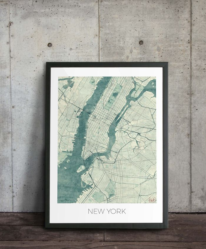 Simple Dream Project Evolved Into The Amazing Vintage Map Collection