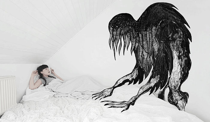 Sleep Disorders Fascinate Me So I Illustrated Them In GIFs
