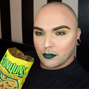 Instagrammer Perfectly Matches Makeup To His Snacks
