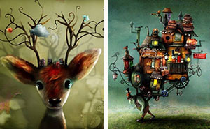 Fairytale-Like Illustrations By Swedish Artist Alexander Jansson