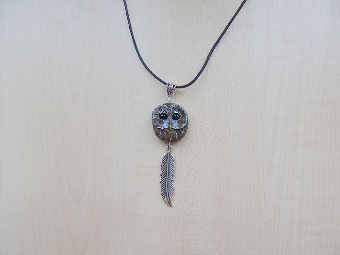 Tawny Owl Pendant