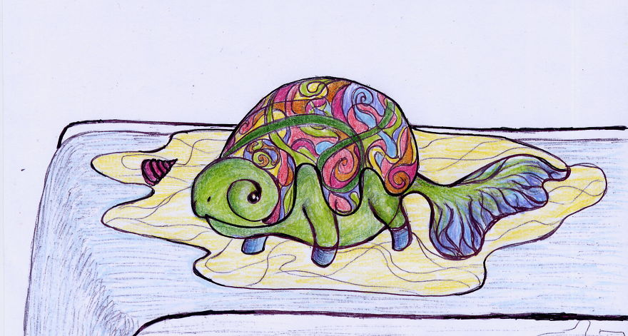 Turtle With Colors This Time
