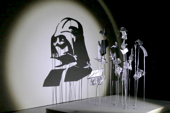 The Artist Plays With Light And Shadow, Celebrating The Heroes Of Star Wars