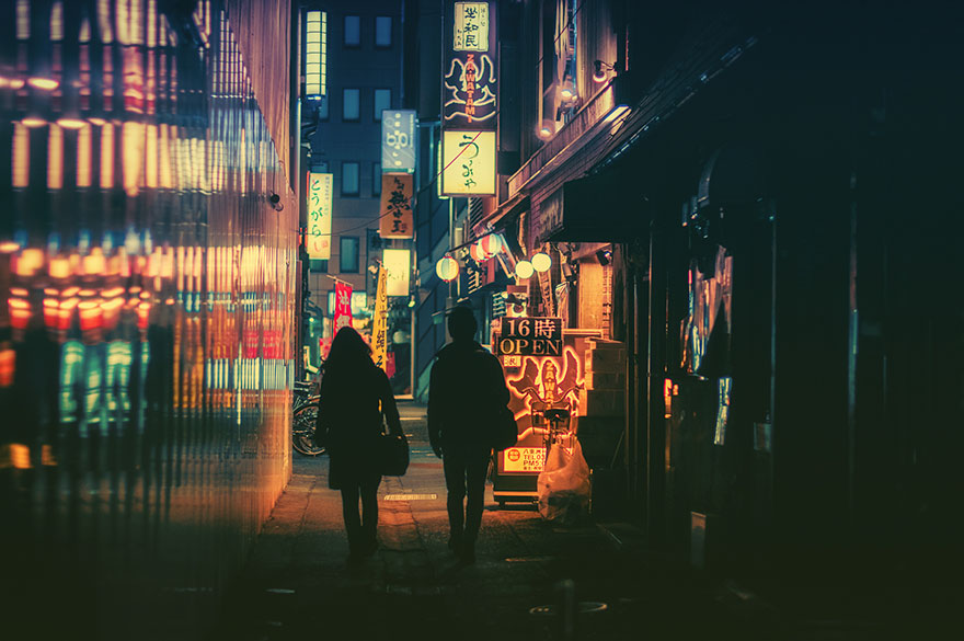 Magical Night Photography Of Tokyo S Streets By Masashi