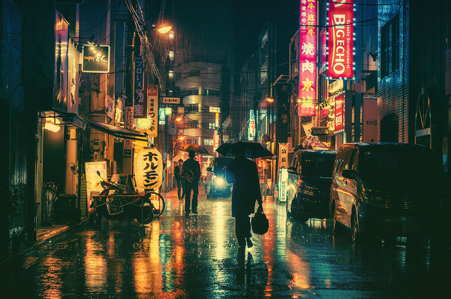 Fall Photography Ideas - Tokyo during the nights