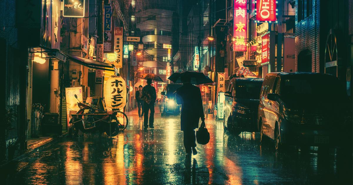 Magical Night Photography Of Tokyo's Streets by Masashi Wakui