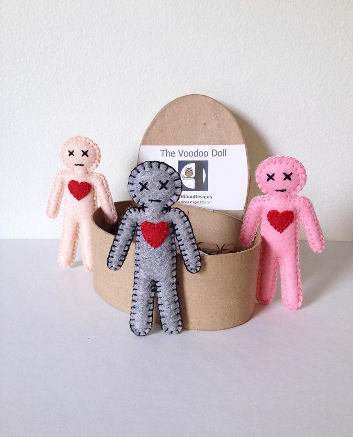Куклы вуду как сделать своими руками в домашних условиях 16