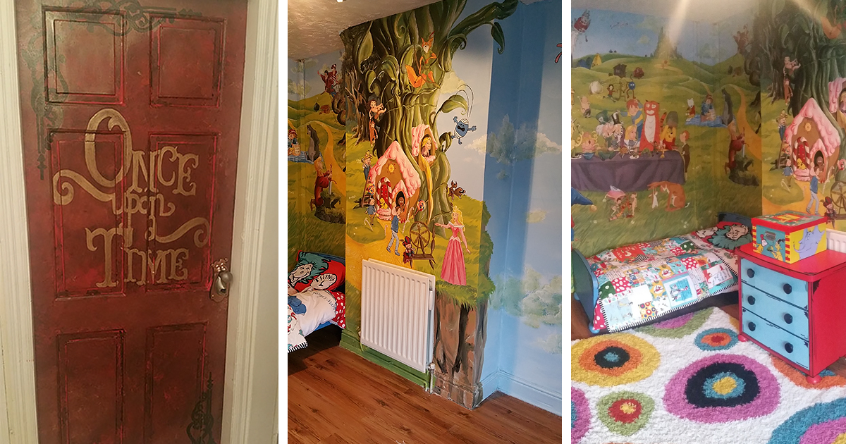 I Made A Fairytale Themed Room For My Daughter To