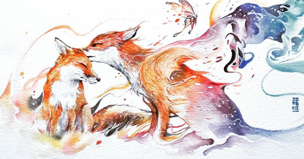 Watercolor Has An Unpredictable Character That Lets Me Create Expressive Animal Paintings