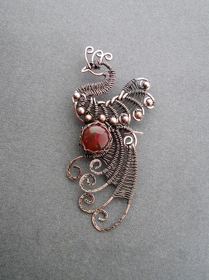 Wire Wrap Jewelry Of Anastasiya Ivanova