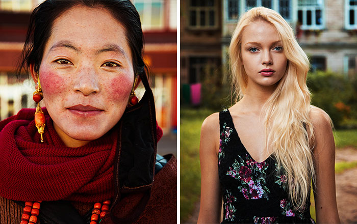 Romanian Photographer Shoots Women From 121 Countries To Show That Beauty Is Everywhere