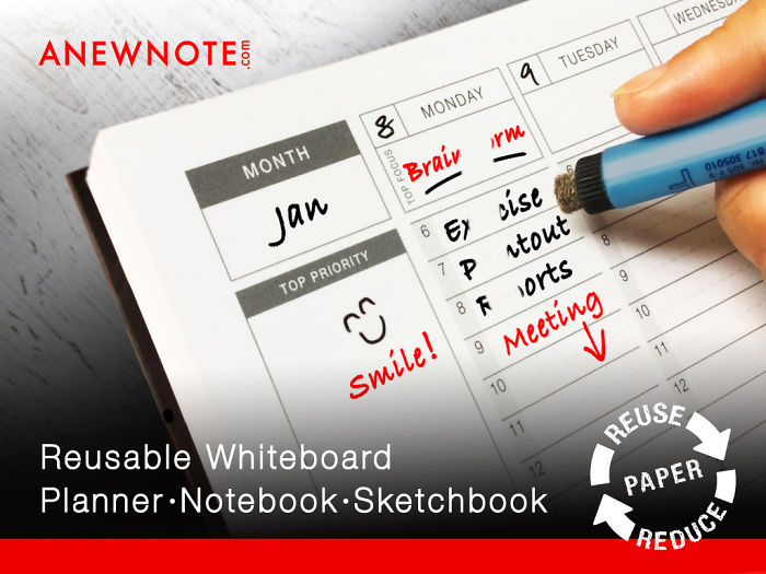 Wow! Infinitely Reusable Planner Notebook I Can Use Forever!