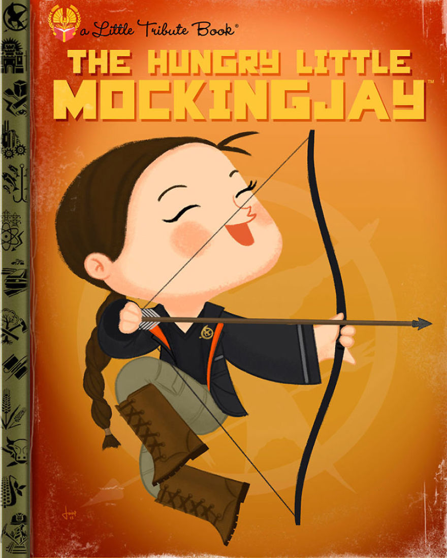 Pop Culture Icons Turned Into Kids\' Book Covers By Joey Spiotto ...