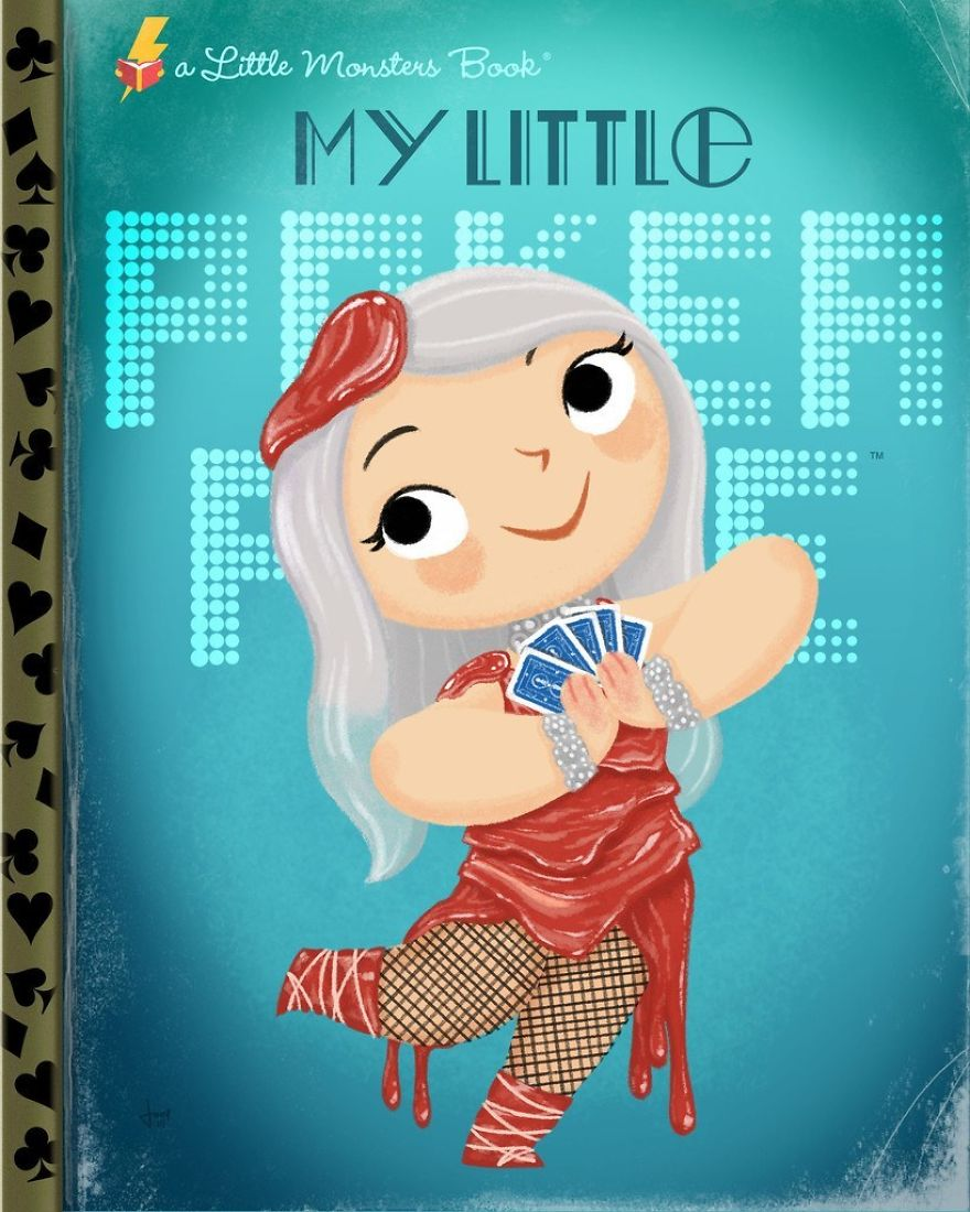 Pop Culture Icons Turned Into Kids' Book Covers By Joey Spiotto