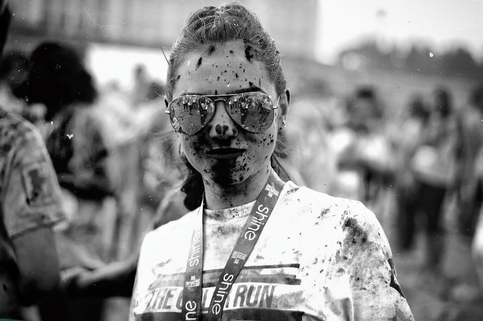 I Erased All The Colors From The Color Run
