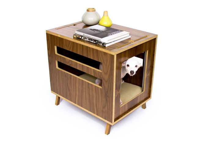 Dog House And A Side Table In One
