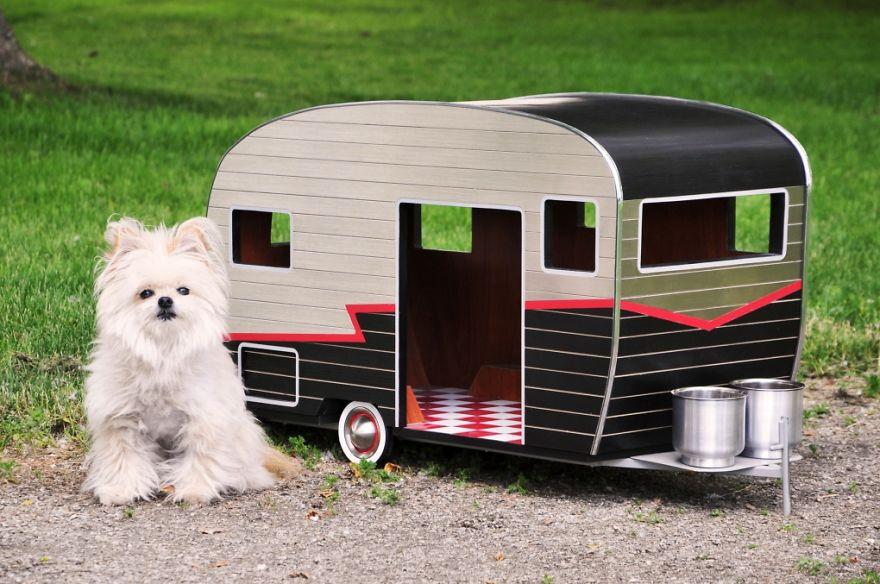Dog Trailer Home