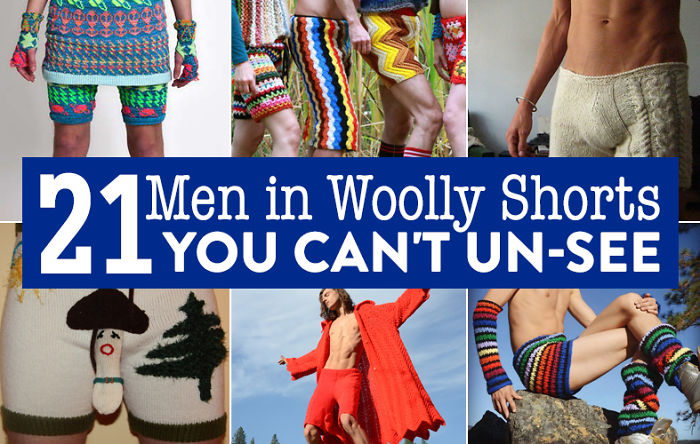 21 Men In Woolly Shorts You Can't Un-see