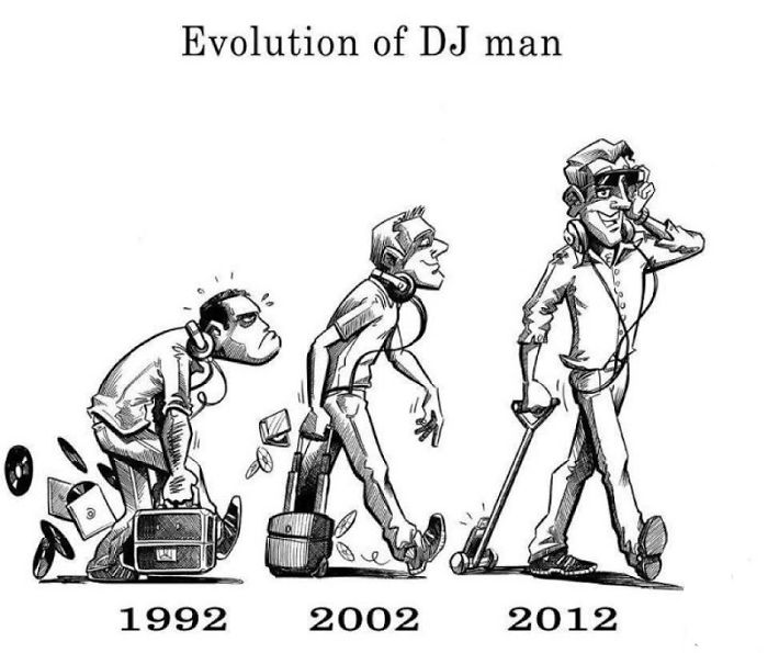 Evolution Of Dj Man
