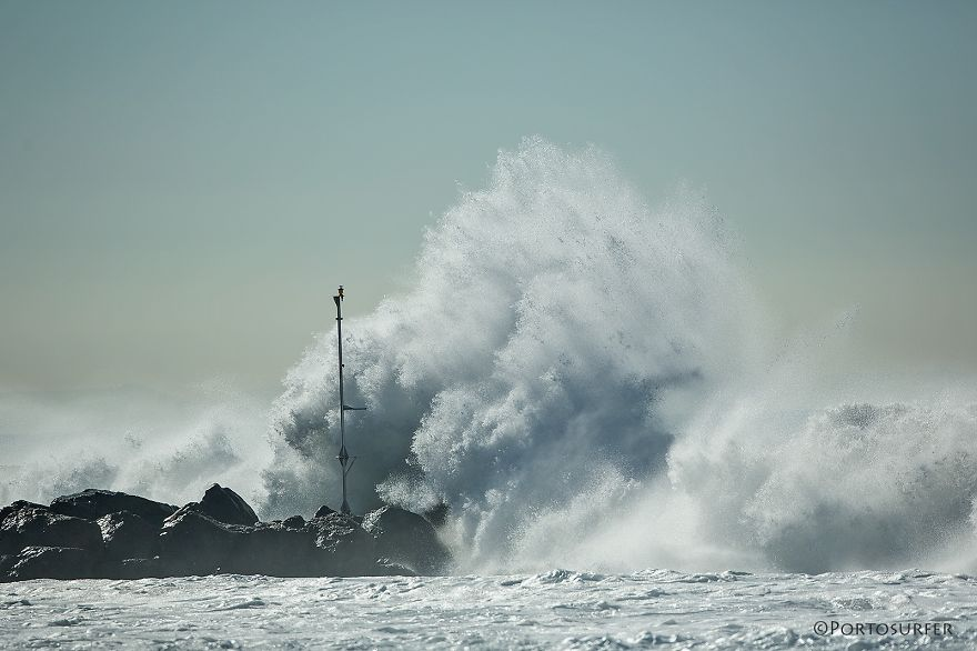 El Niño Attack, Manhattan Beach, Ca