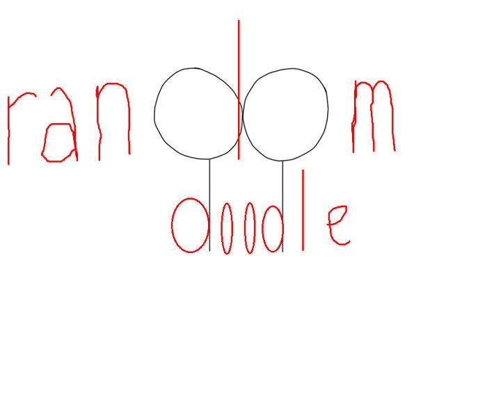 """I Made A """"radnom Doodle"""""""
