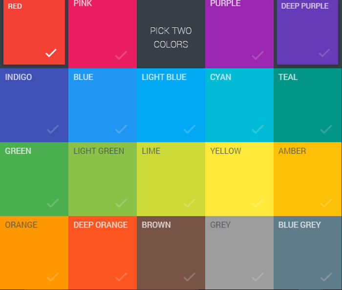 These Combination Of Colors For Web Designing.
