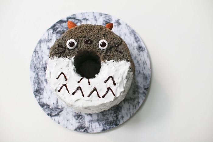Totoro Chiffon Cake