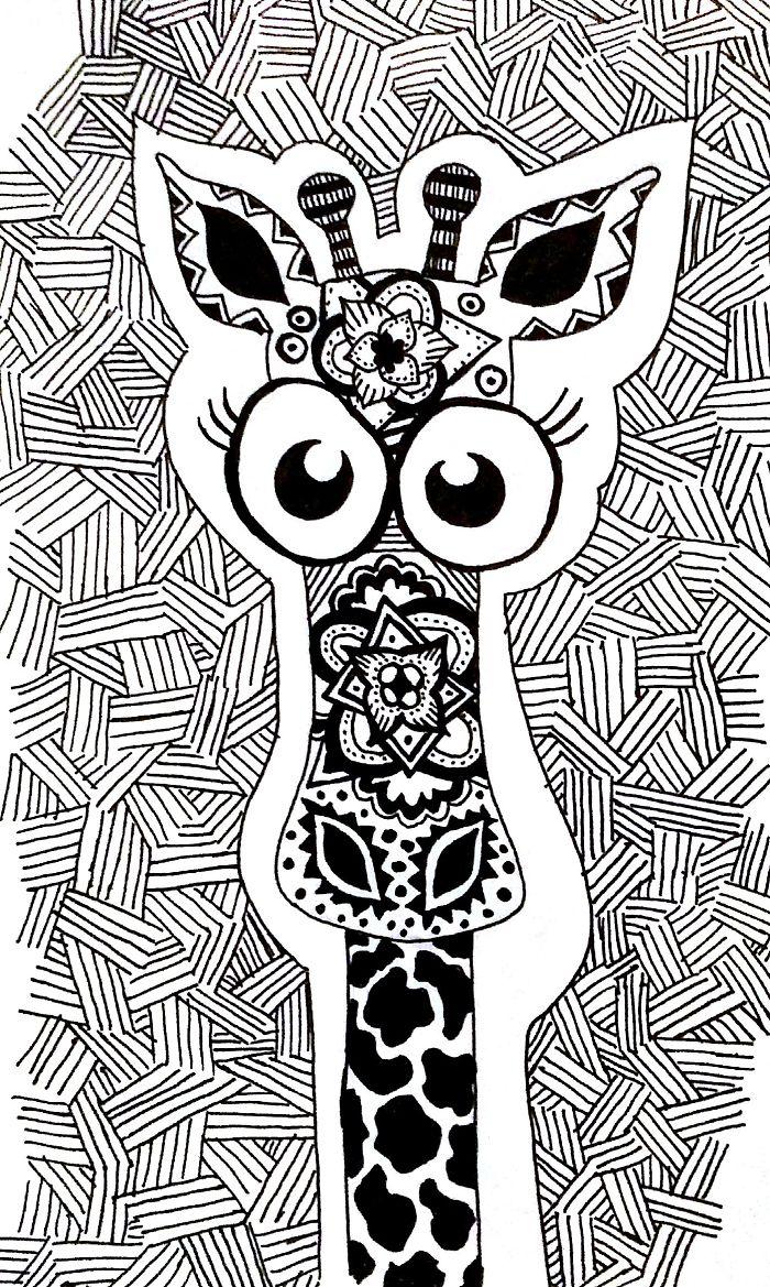 It's Only A Giraffe!!!