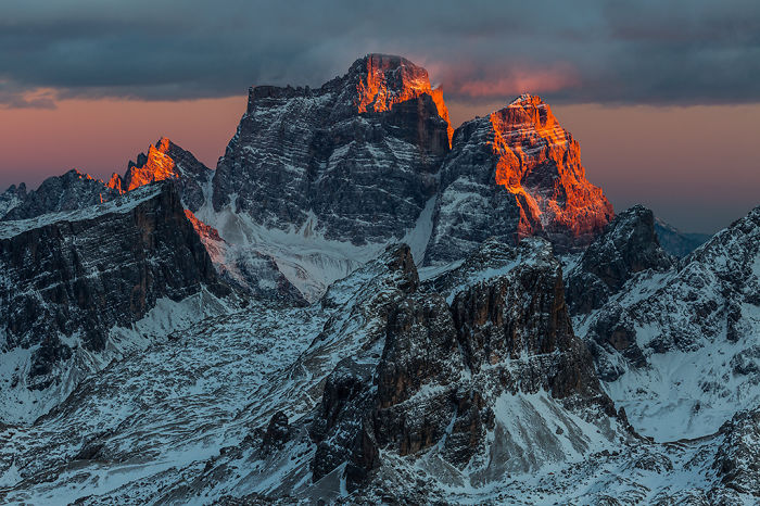 I Captured Winter In The Magical Dolomites Of Italy